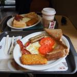 kanadsko-anglická snídaně