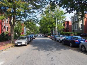 v této ulici jsme bydleli